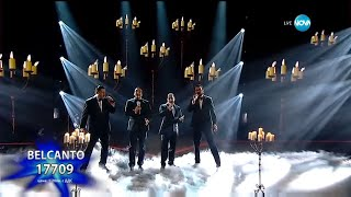 Belcanto videoclip Parla Piu Piano (On The X-Factor Bulgaria) (Live)
