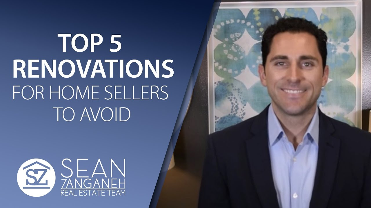Which Renovations Should Home Sellers Avoid?