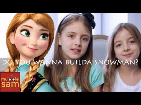 史上最美的小蘿莉唱冰雪女王..