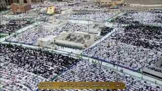 ۩ صلاة عيد الفطر المبارك لعام 1435هـ من الحرم المكي ۩ الشيخ صالح بن حميد HD
