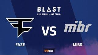 FaZe vs MIBR, nuke, BLAST Pro Series Sao Paulo 2019