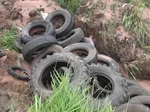 Erosão ameaça residências em Santa Rita do Araguaia