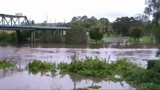 Lismore Australia  City new picture : Australia Day Floods Lismore 2012.flv