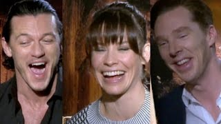 The Cast of 'The Hobbit 2' Funny Interview