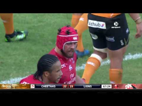 2017 Super Rugby Round 1: Cheetahs v Lions (видео)