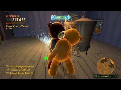 Naughty Bear - Episode 1: The Party - Part 2 of 3 - Walkthrough - HD