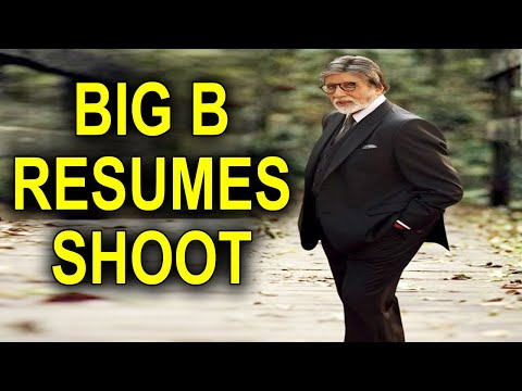 Amitabh Bachchan spotted on shoot in Bandra