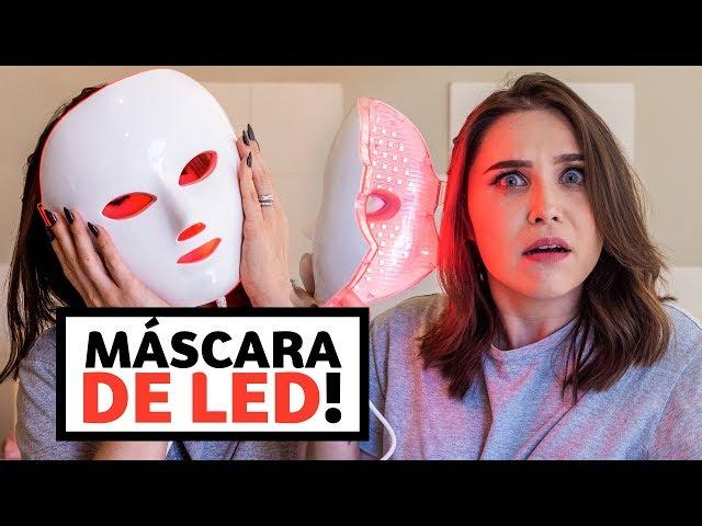 Máscara facial DE LED! FUNCIONA MESMO? | Lu Ferreira | Chata de Galocha - Chata de Galocha