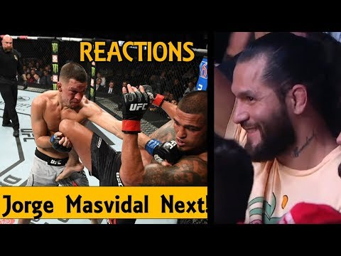 MMA Reacts to Nate Diaz Defeat Anthony Pettis, Jorge Masvidal Call Out - UFC 241