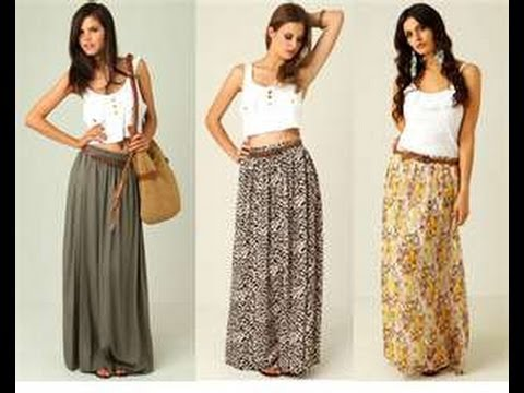 Video how to make a maxi skirt in 5min easy for beginners sewing download in MP3, 3GP, MP4, WEBM, AVI, FLV January 2017