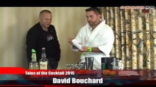 Flairbar.com Show with David Bouchard behind the bar @ Tales of the Cocktail 2015!