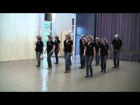 DOUBLE SHOT OF CROWN - NEW SPIRIT OF COUNTRY DANCE - line dance