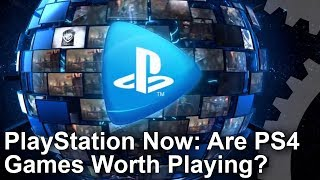 Streaming gameplay over the internet. Back in the day it was the hottest innovation in gaming, but OnLive poisoned the well. Has PlayStation Now improved the experience? Tom presents a full latency and image quality breakdown.Subscribe for more Digital Foundry: http://bit.ly/DFSubscribe