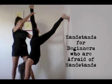 Meyerson - http://www.YOGAthletica.com in this video, shana meyerson of YOGAthletica in los angeles, california shows her mom (age 68!) how to do a simple handstand. th...