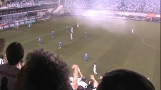 O Santos venceu o Velez por 1X0 no tempo normal, com gol de Alan Kardec. Nos pênaltis o Santos venceu por 4 X 2.