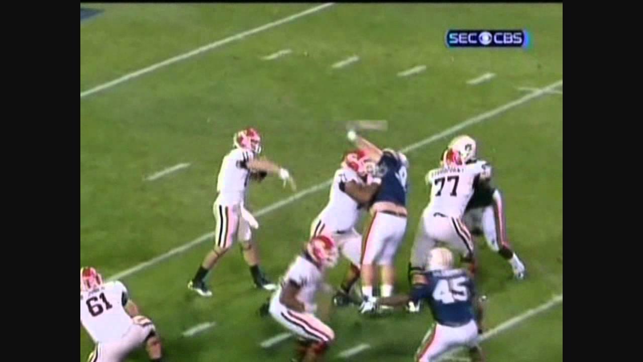 Aaron Murray vs Auburn (2010)