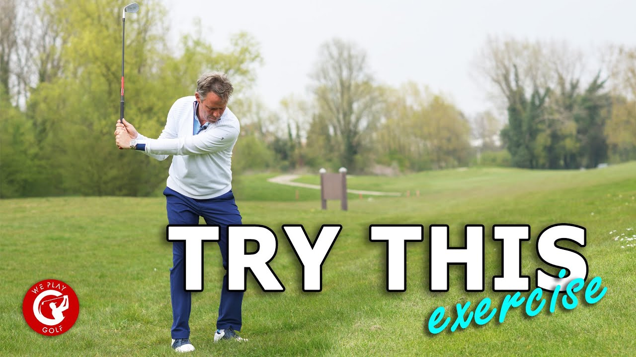 Ultimate golf exercise for consistant long and short golf shots