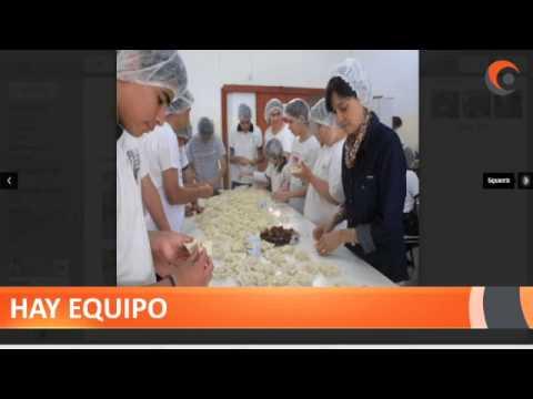 Informe de Claudio Minoldo. El jueves realizaron pastelitos y alfajores.