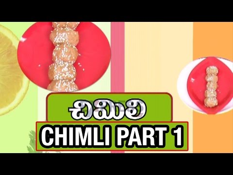 Chimli Recipe (Ugadi Special) – Part 1 – Yummy Healthy Kitchen |  Express TV