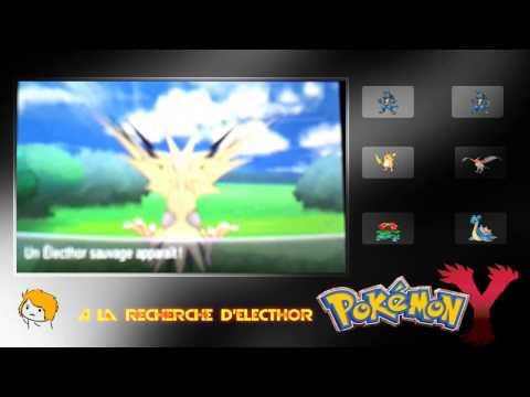 Comment trouver pokemon legendaire x la r ponse est sur - Elector pokemon x ...