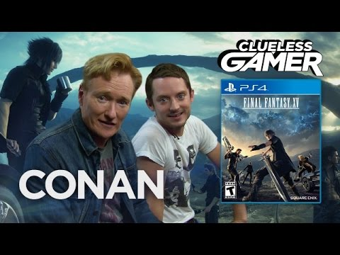 Conan a Elijah Wood hrají Final Fantasy XV