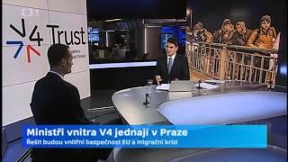 Ministři vnitra V4 jednají v Praze