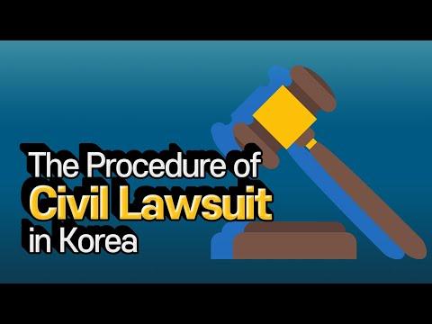 [Korean lawyer] The Procedure of Civil Lawsuit in Korea