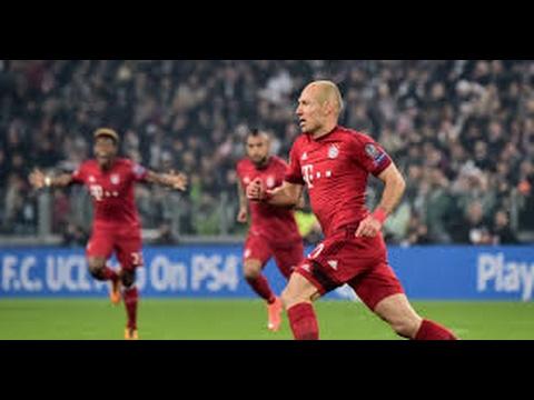 Arjen Robben Goal   Bayern Munich vs Arsenal 1 0   Champions League 15 02 2017 HD