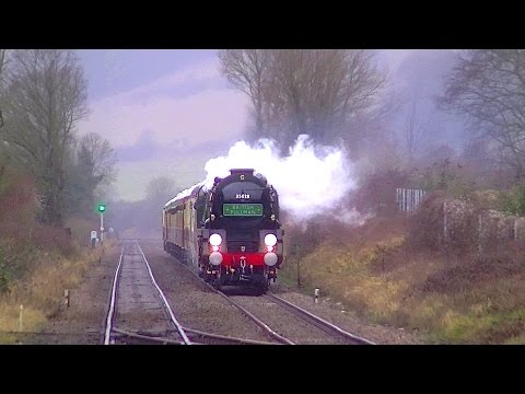 """35028 Clan Line """"Late, Angry and Flustered"""" 28th February..."""