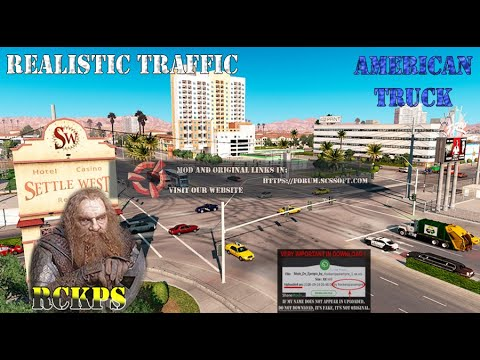 Realistic Traffic v6.2 For ATS 1.38.x