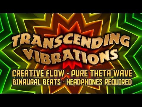 Creative Flow - Pure Theta Wave Binaural Beats - Headphones Required