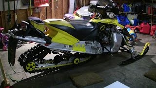 5. skidoo Rev 800 talk about and no reverse Episode 1