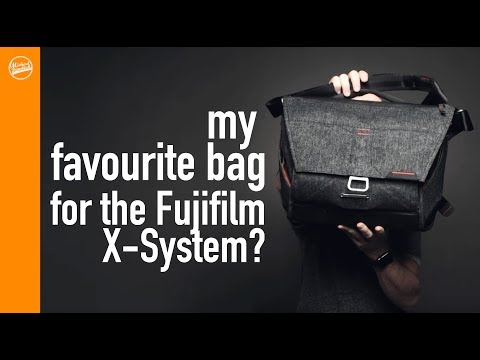 Review: My Favourite Camera Messenger Bag For The Fujifilm X-T2 And X-H1 From Peak Design