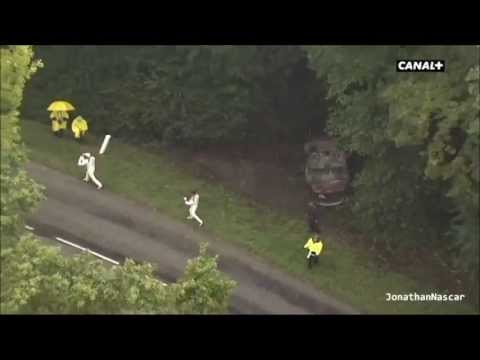 Rajd Francji: Loeb crash
