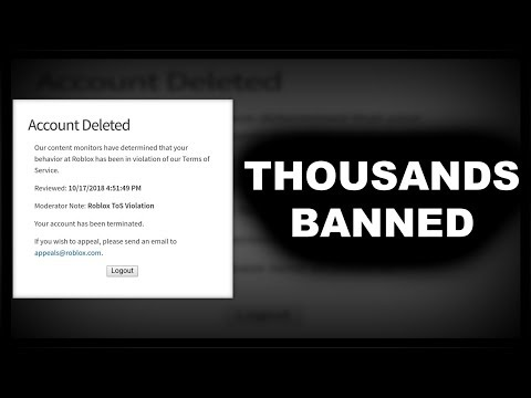 Roblox Accidentally TERMINATED Thousands Of People AGAIN