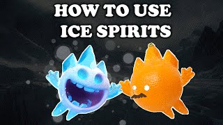 Video Clash Royale | How to Use and Counter Ice Spirit MP3, 3GP, MP4, WEBM, AVI, FLV Oktober 2017