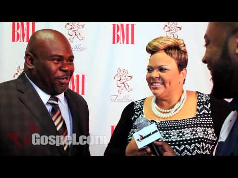 15th Annual BMI Gospel Luncheon Interview with David and Tamela Man