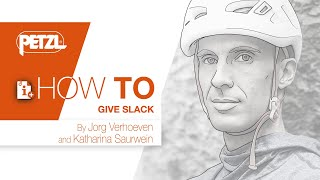 HOW TO paying out slack - Jorg Verhoeven by Petzl Sport