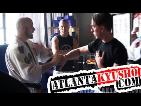Atlanta Kyusho and Jujitsu – Small Circle Jujitsu Training