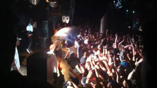 odd future - boston MA (ONLY STAGEDIVING)