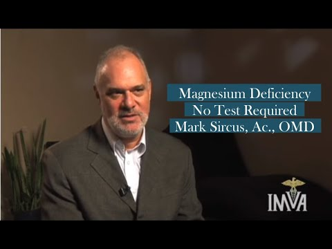 Magnesium Deficiency - No Test Required - Mark Sircus, Ac., OMD (видео)