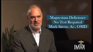 Magnesium Deficiency: Signs