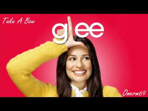 Tekst piosenki Glee Cast - Take A Bow po polsku