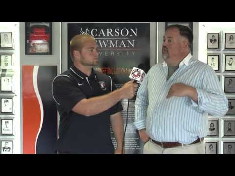 Carson-Newman Track and Field: David Needs Interview 4-26-16