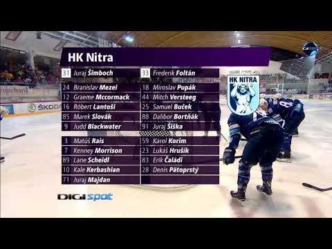 34.forduló: DVTK Jegesmedvék - HK Nitra 2-0