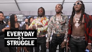 Things Get Heated Between Migos, Joe Budden, and DJ Akademiks at the BET Awards | Everyday Struggle