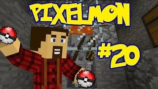 Pixelmon: Episode 20: Skeleton XP Farm!