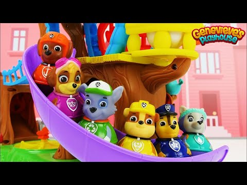 Best Learning Videos for Toddlers Learn Colors for Kids Weebles, Paw Patrol, & Genevieve!