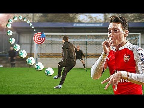 Mesut Özil vs freekickerz ⚽ Fußball Challenge - Thời lượng: 5 phút, 35 giây.
