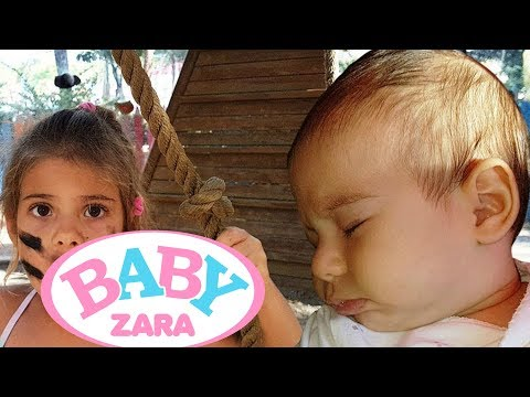 ГДЕ же Зара ДЕТСКАЯ ПЛОЩАДКА и развлечения для детей. Родители пошутили. Видео для детей Baby Zara